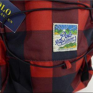 Polo Ralph Lauren Mountain Buffalo Plaid Backpack